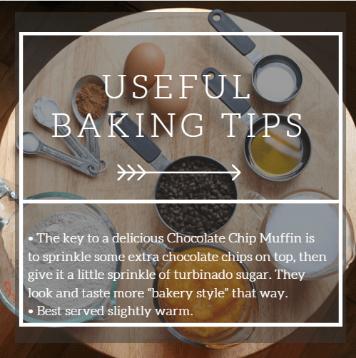 baking tips chocolate